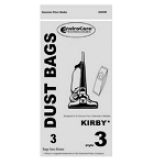 Kirby Style 3 Vacuum Bags by Envirocare