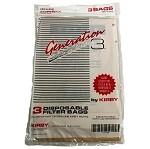 Kirby Vacuum Bags Generation 3 3 pack OEM # 197289
