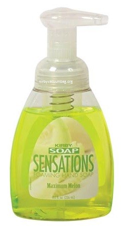 Kirby Soap Sensations Foaming Hand Soaps